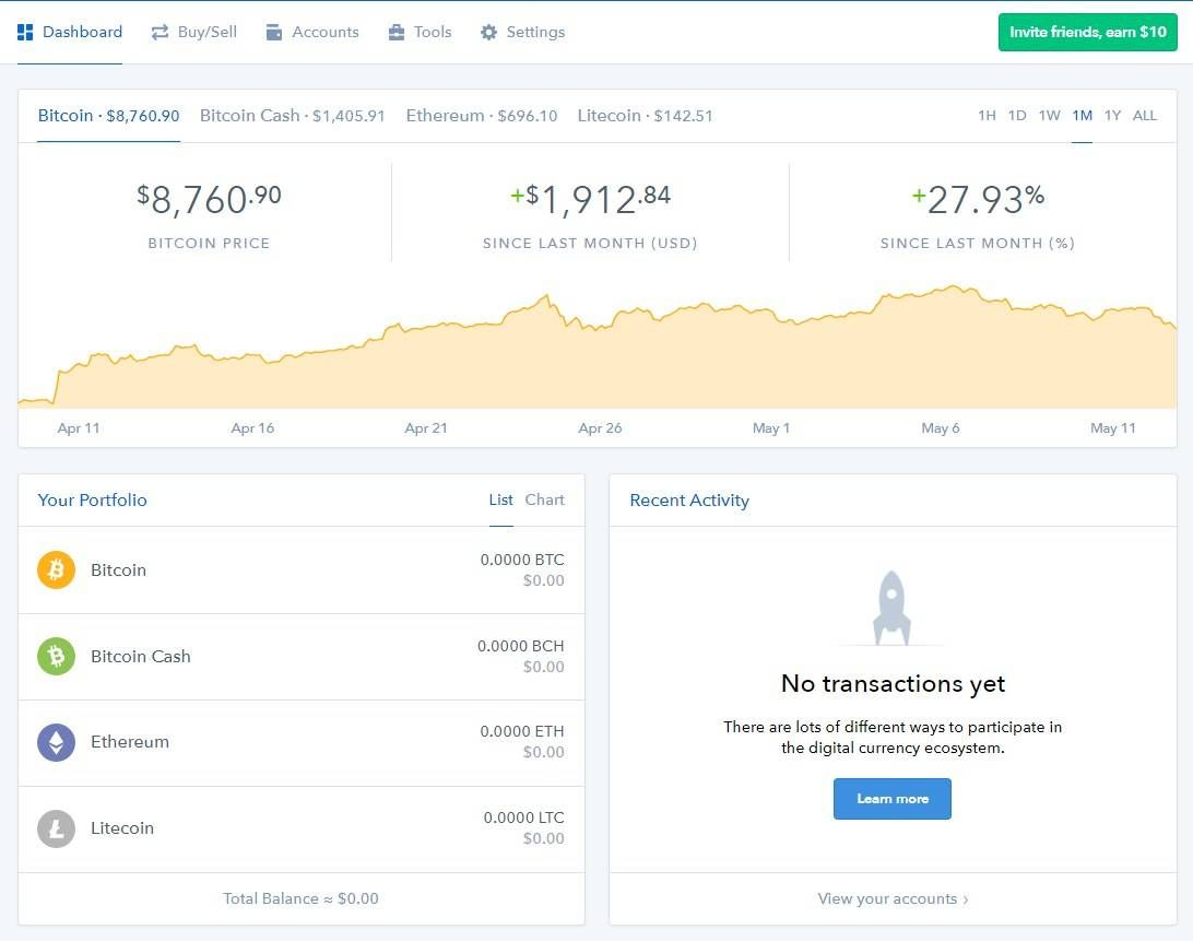 Gdax coinbase cryptocurrency exchange comprehensive