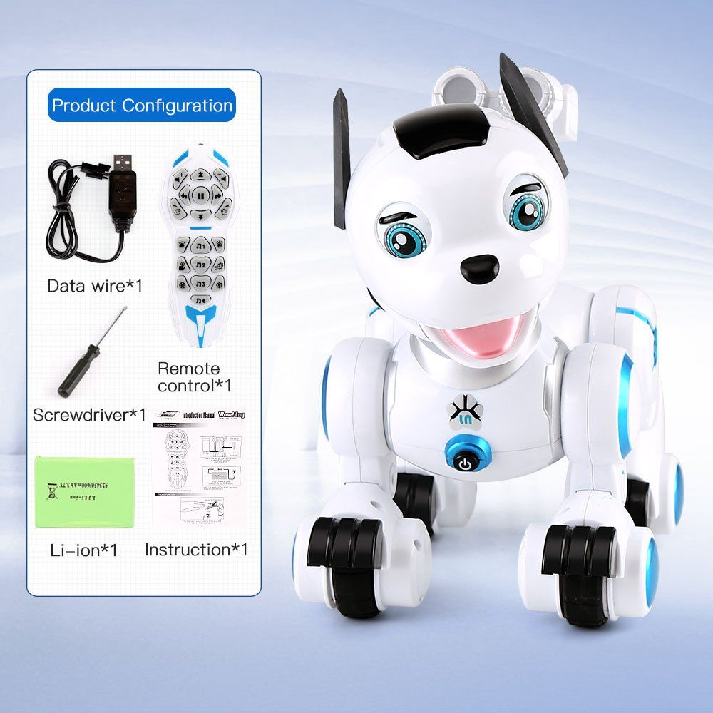 Funnybuy Pet Dog Interactive Puppy Wireless Remote Control Robot