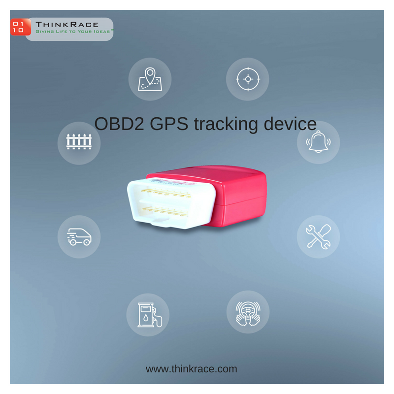 Monitor your feet with OBD2 GPS Tracker, a Simple Plug & Play