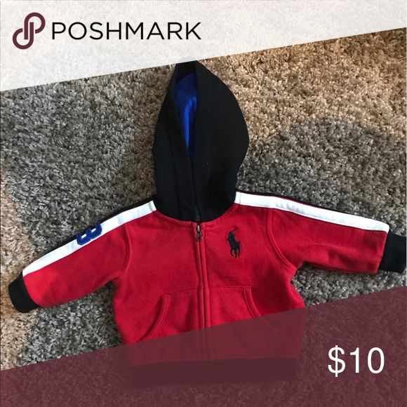 NWOT 3 mos Ralph Lauren Polo Zip Up Hoodie Jacket Smoke-free home. 🚭 same day shipping! 📦 see all my other listings & positive feedback! 🎀 Have a great day! ❤️ Ralph Lauren Shirts & Tops Sweatshirts & Hoodies
