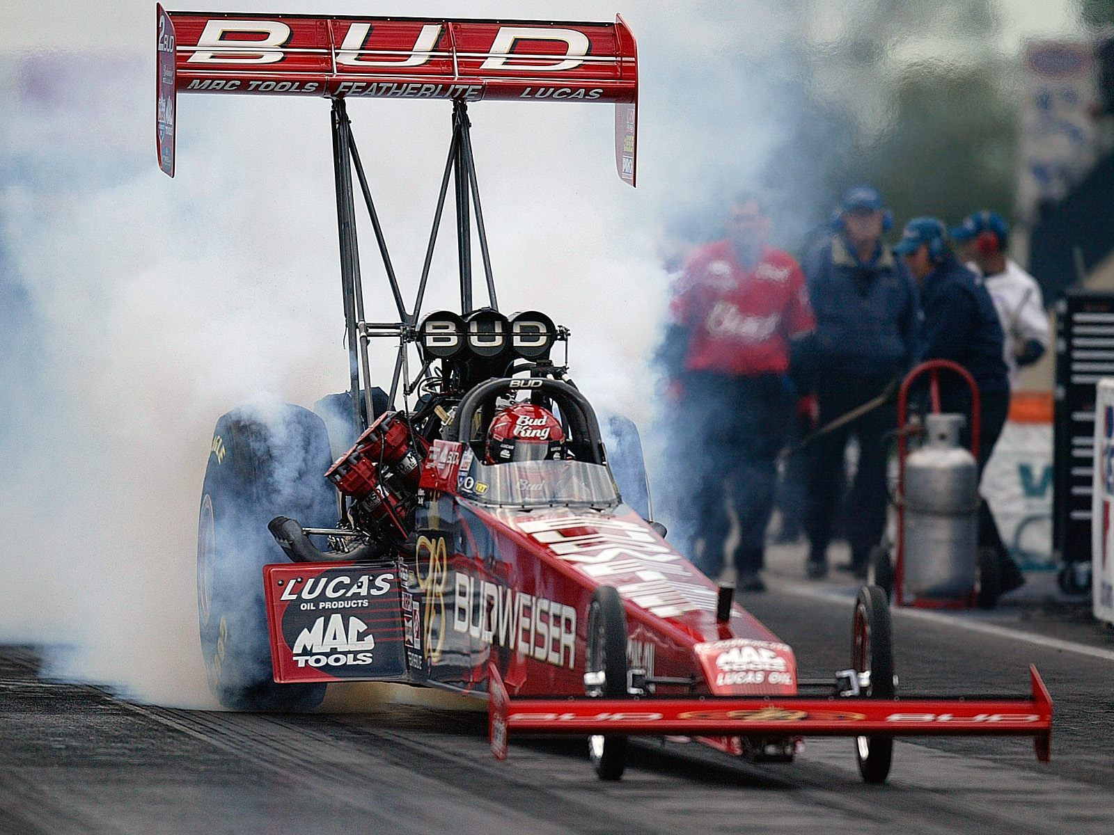 I used to race a rear engine dragster. I stay away from the race ...