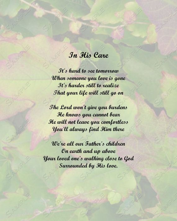 Memorial Poem For Jeff Who Died 39 Days Ago And Baby Sophia Lost 6