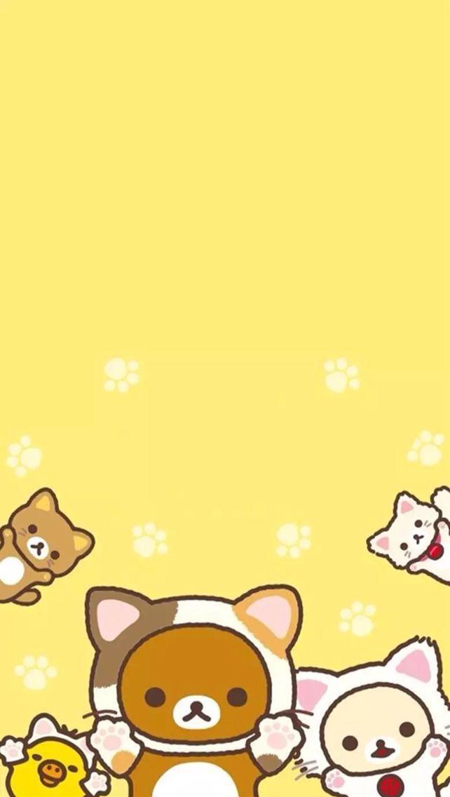 Rilakkuma cat wallpaper and like omg get some yourself some rilakkuma cat wallpaper and like omg get some yourself some pawtastic adorable cat shirts voltagebd Gallery