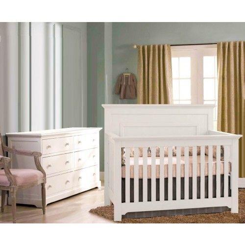 Munire Chesapeake 2 Piece Nursery Set In White