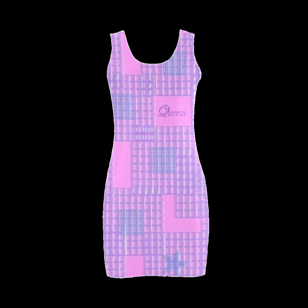 QUEEN GIRL PINK Medea Vest Dress (Model D06)