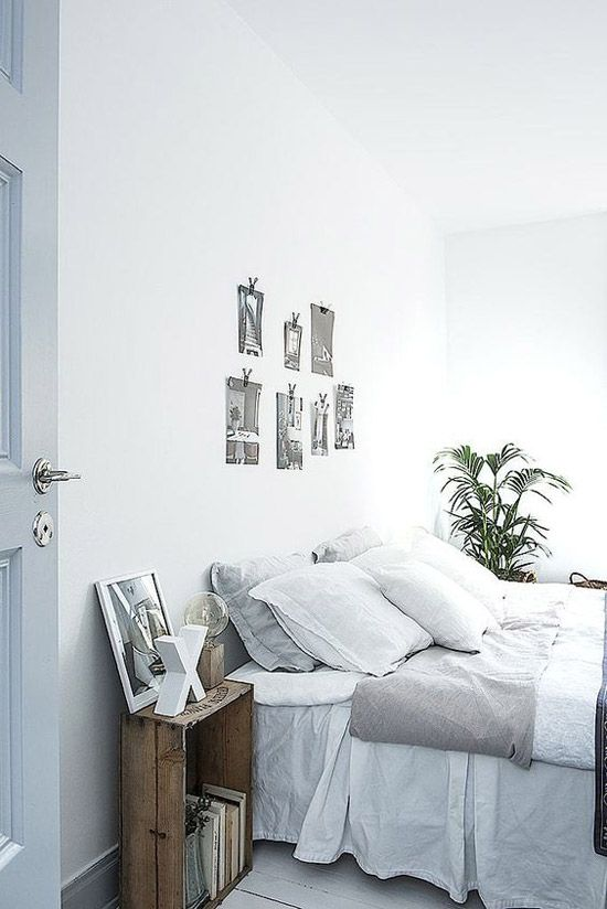 Lichte slaapkamer ideeën | Interieur | Pinterest