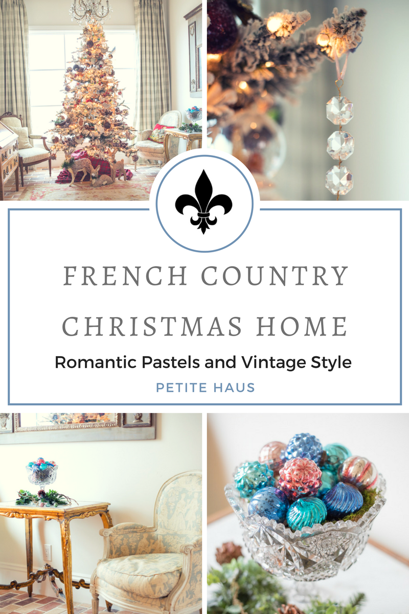 French Country Christmas Decor... Home Tour Part 1 | Pinterest ...