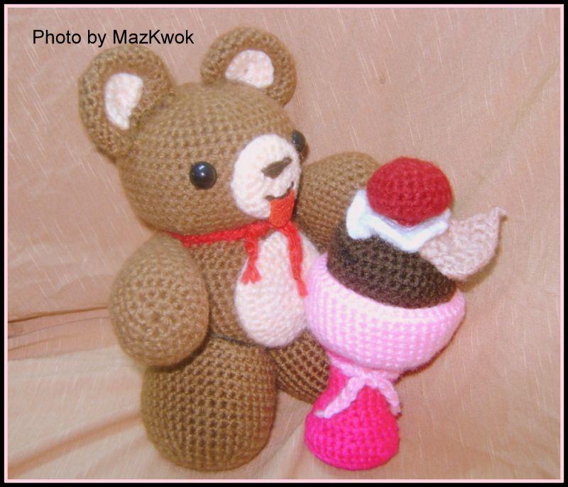 Brownie Bear Sundae Pattern Brownies Bears And Patterns
