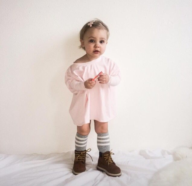 Big sweater for kids.  Staat zo leuk