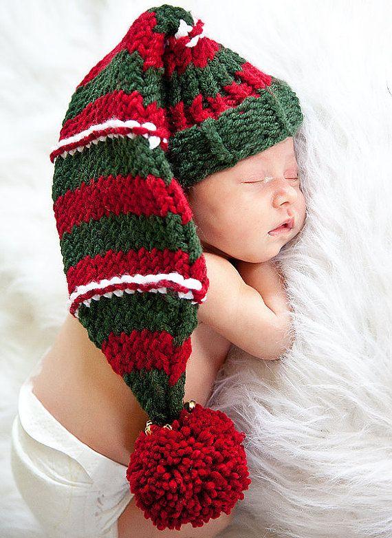 Baby Hat Loom Pattern Christmas Elf Hat Pattern 0 To 3