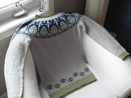 ghanima\'s My Neighbour Totoro | Ravelry | Pinterest | Stricken ...