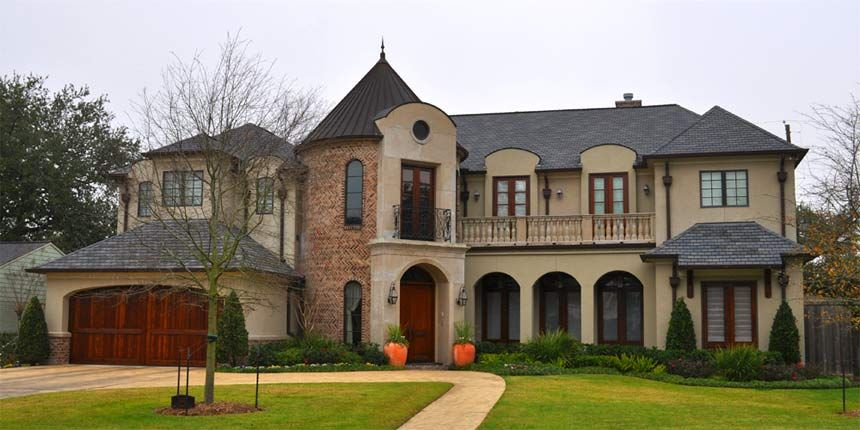 The Home Interior in this luxury custom home builders houston tx looks inspiring without being