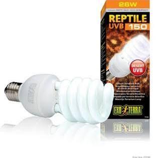 Hagen Repti Glo 10 0 Uvb Compact Fluorescent Bulb 26 Watt