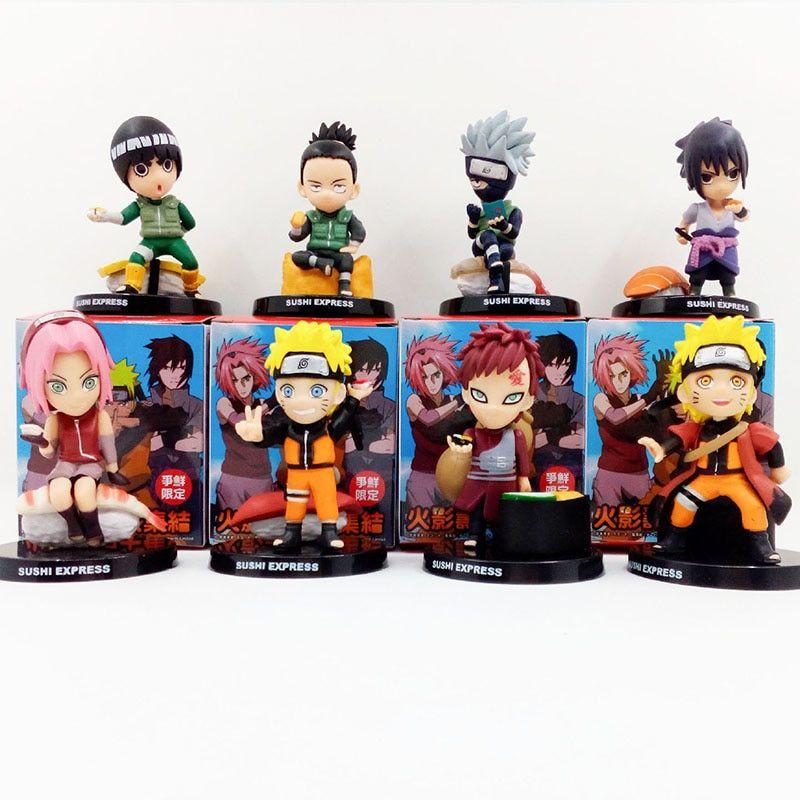 3 Pcs//Set Nendoroid Naruto Hatake Kakashi for The Man Xiang PVC Figure Model Toy