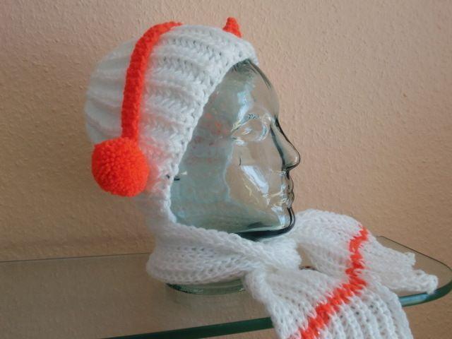 Mütze mit Schal  von Auenblume auf DaWanda.com