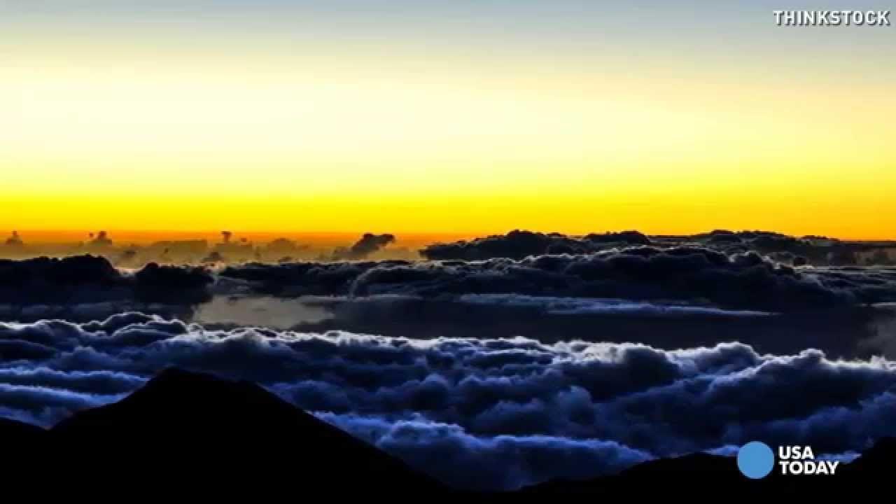 visit Haleakala at dawn (Ken Burns: Secrets of Hawaii Volcanoes National Park)