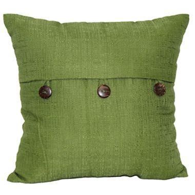 linden street decorative button pillow