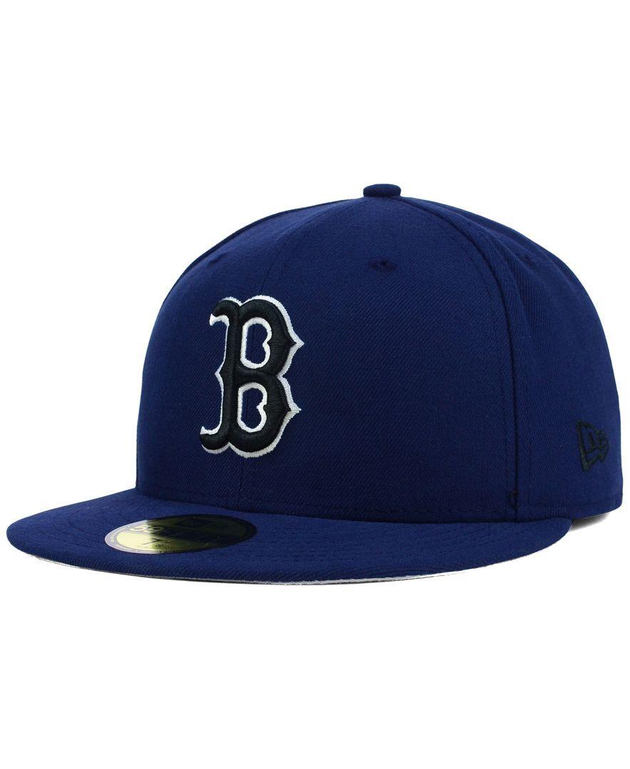 New Era Boston Red Sox C-Dub 59FIFTY Cap