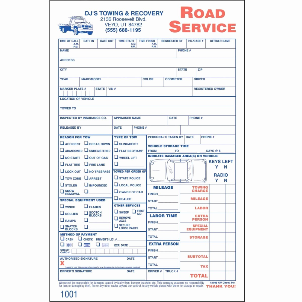 Towing Invoice Template For Tow Truck Invoice Invoice Template Ideas Pertaining To Towing Service Invoice Template 10 Towing Service Invoice Template Towing