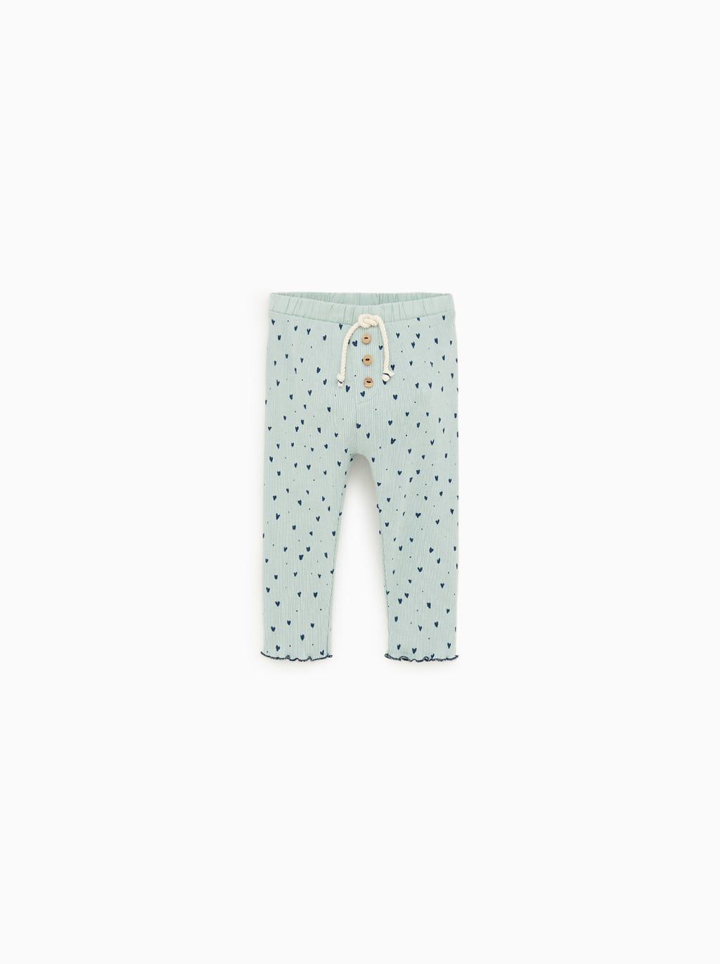 fd6ac689 HEART PANTS-View All-LEGGINGS AND PANTS-BABY GIRL | 3 mth - 4 yrs-KIDS |  ZARA United States