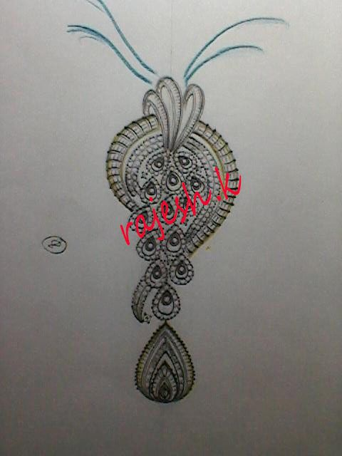 Pin By Rk Jewellery On Pendent Sets Jewelry Drawing Jewellery