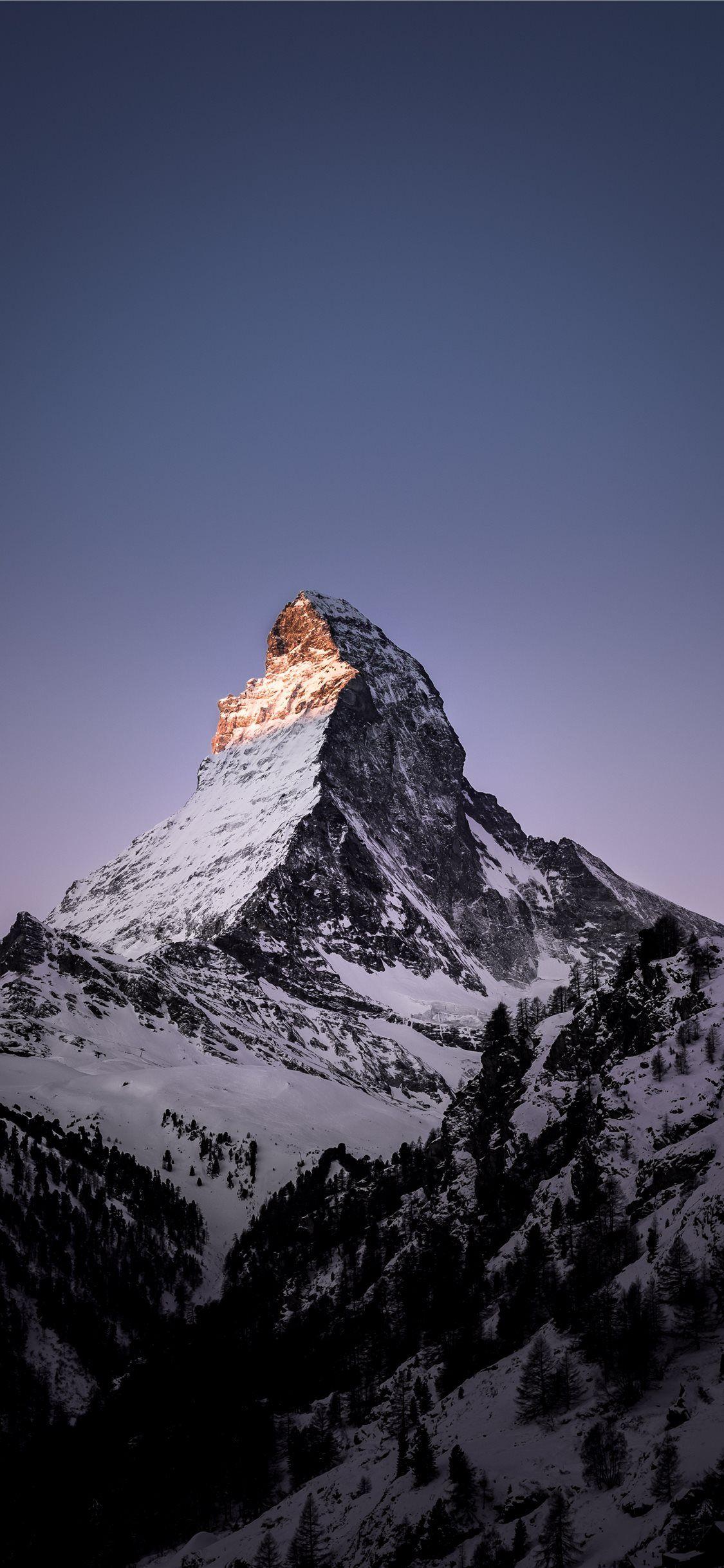 Matterhorn Zermatt Switzerland Winter Morning Mountain Switzerland Matterhorn Zer Switzerland Wallpaper Iphone Wallpaper Mountains Landscape Wallpaper