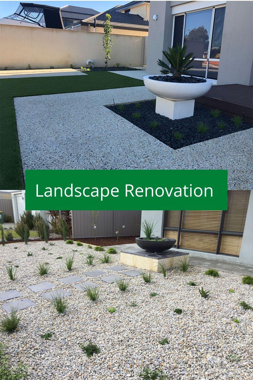 Landscape Renovation In Mandurah Landscape Design Landscape Renovations