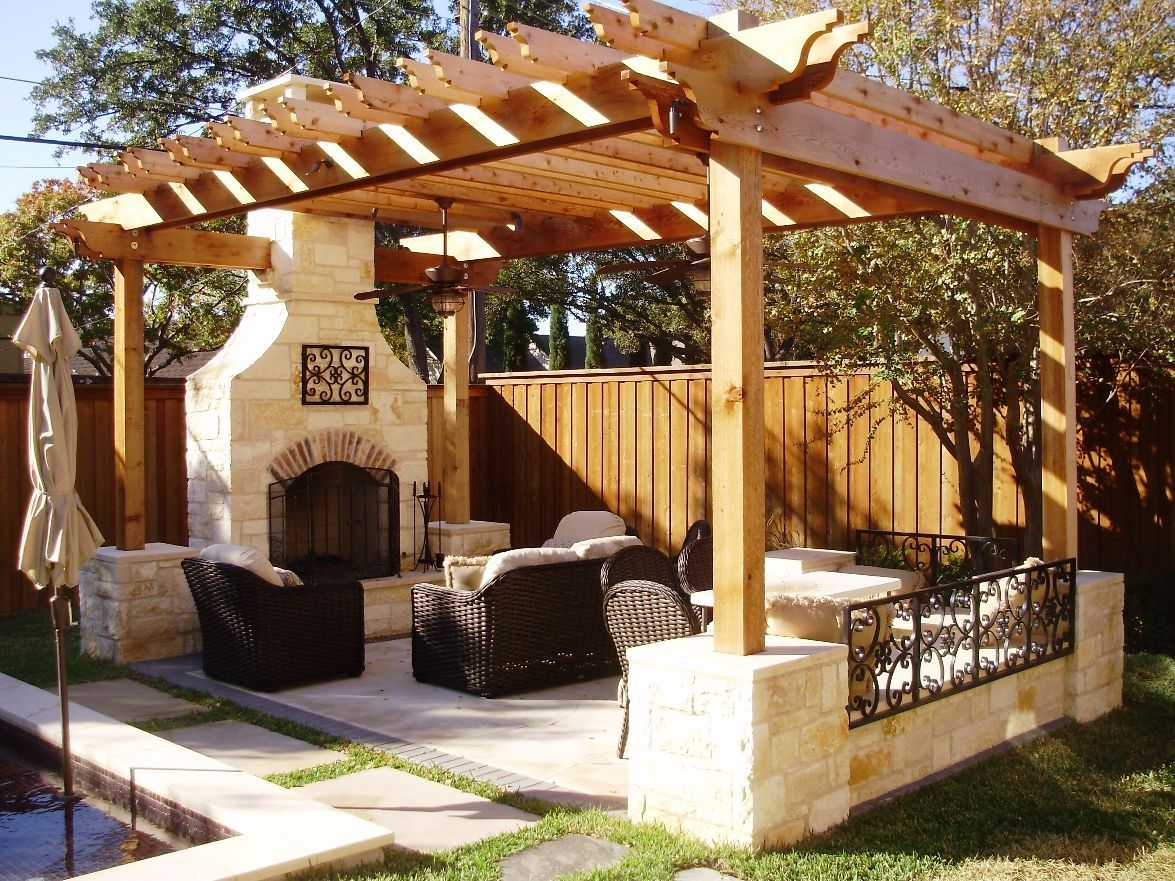 fascinating outdoor living room design | Amazing Patio For Outdoor Living Room With Black Chairs ...