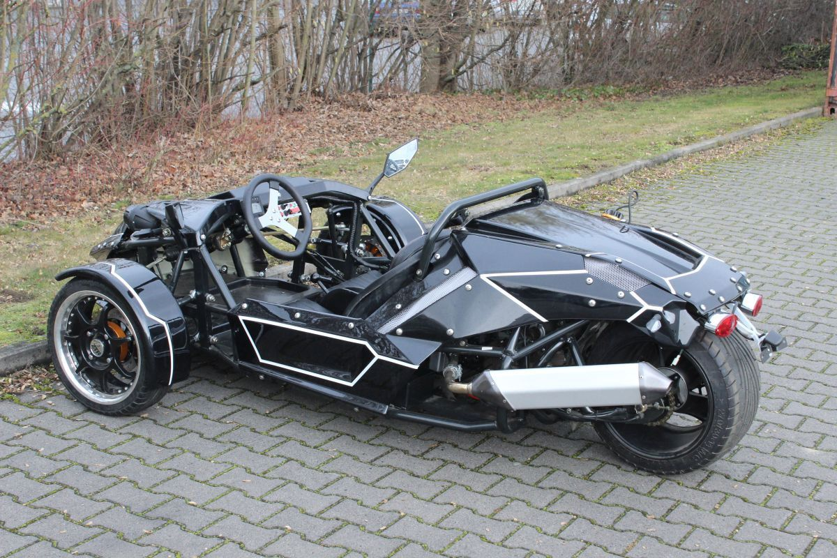 verkaufe g nstig ztr roadster 250ccm trike m. Black Bedroom Furniture Sets. Home Design Ideas