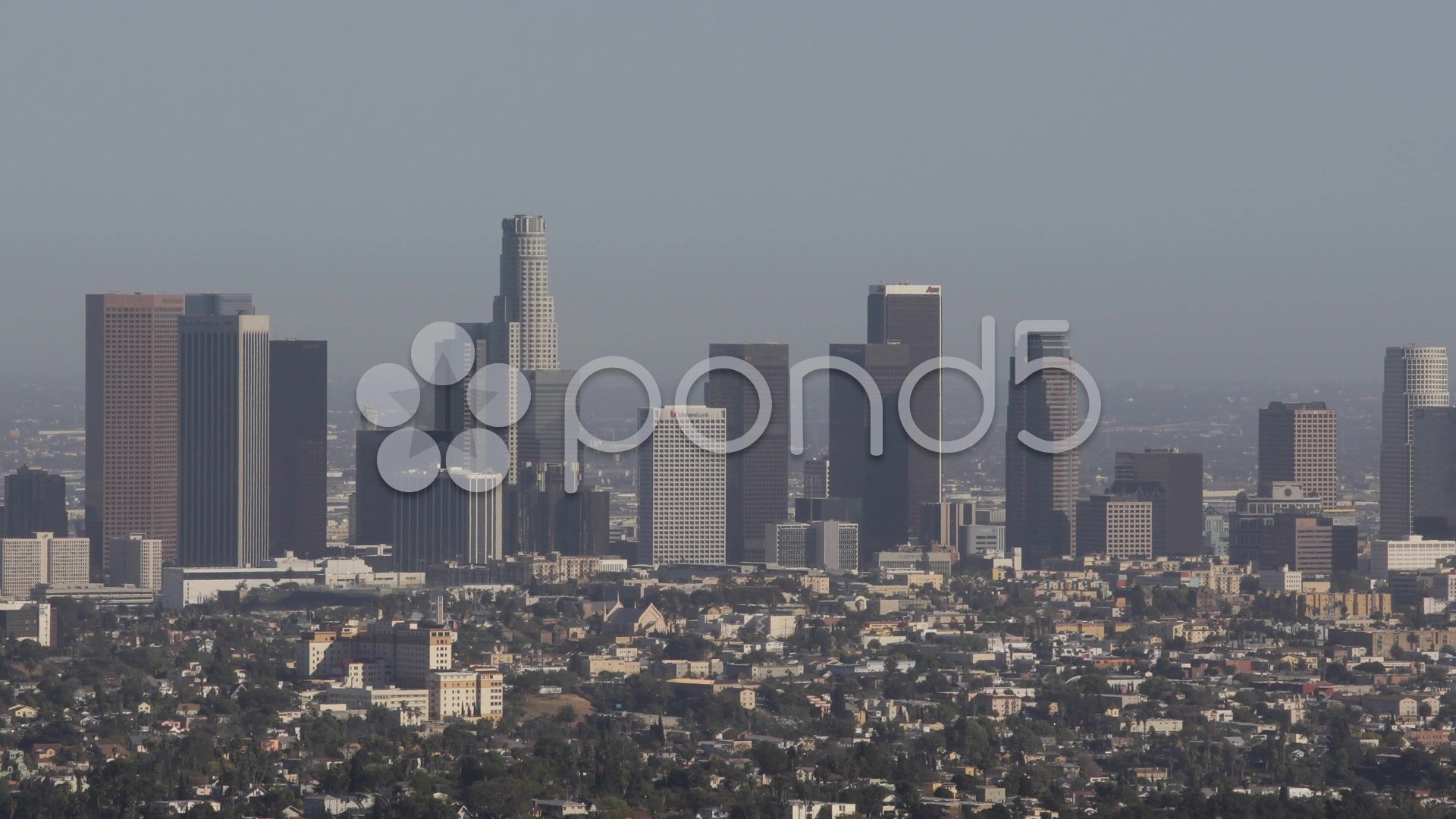 Los Angeles Downtown Skyline California United States Busy City Highrise Usa La Stock Footage Ad California United Skyline States In 2020 Skyline Scenic Aerial View