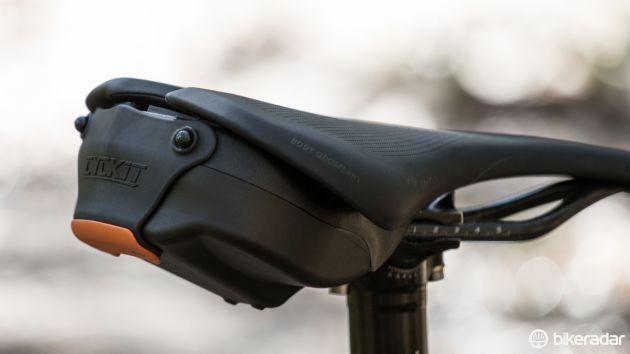 The Cyckit Aeroclam Is A Tidy Alternative To Canvas Saddle Bag Bike Seat
