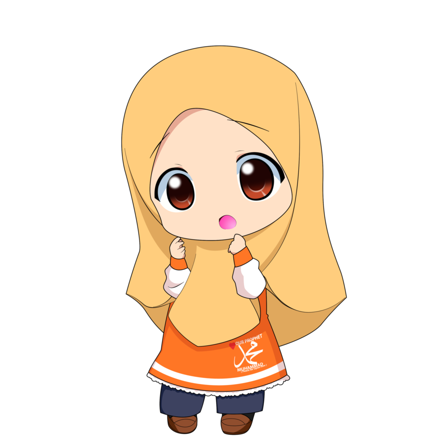 Chibi Muslimah 1 by TaJ92 on DeviantArt Animasi, Kartun
