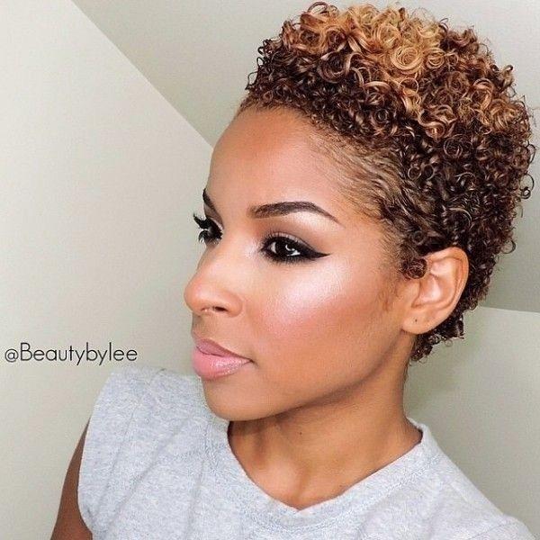 Short Haircuts For N American Curly Hair : 10 trendy short haircuts for african american women & girls: twa