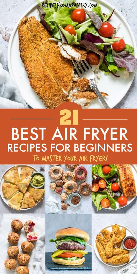 Whether you're brand new to the world of air fryers or a seasoned pro, you will absolutely love thi