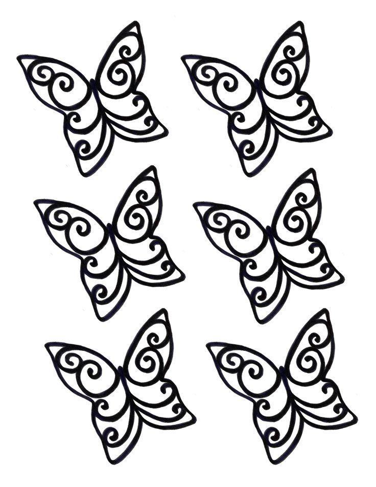 chocolate butterflies - Google Search u2026 Pinteresu2026 - butterfly template