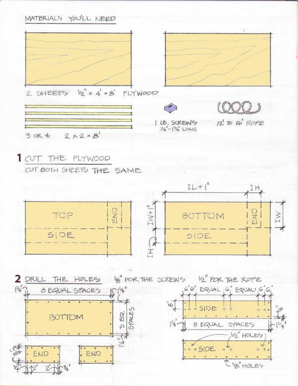 Do It Yourself Building Plans: Plans For Making Plywood Coffins