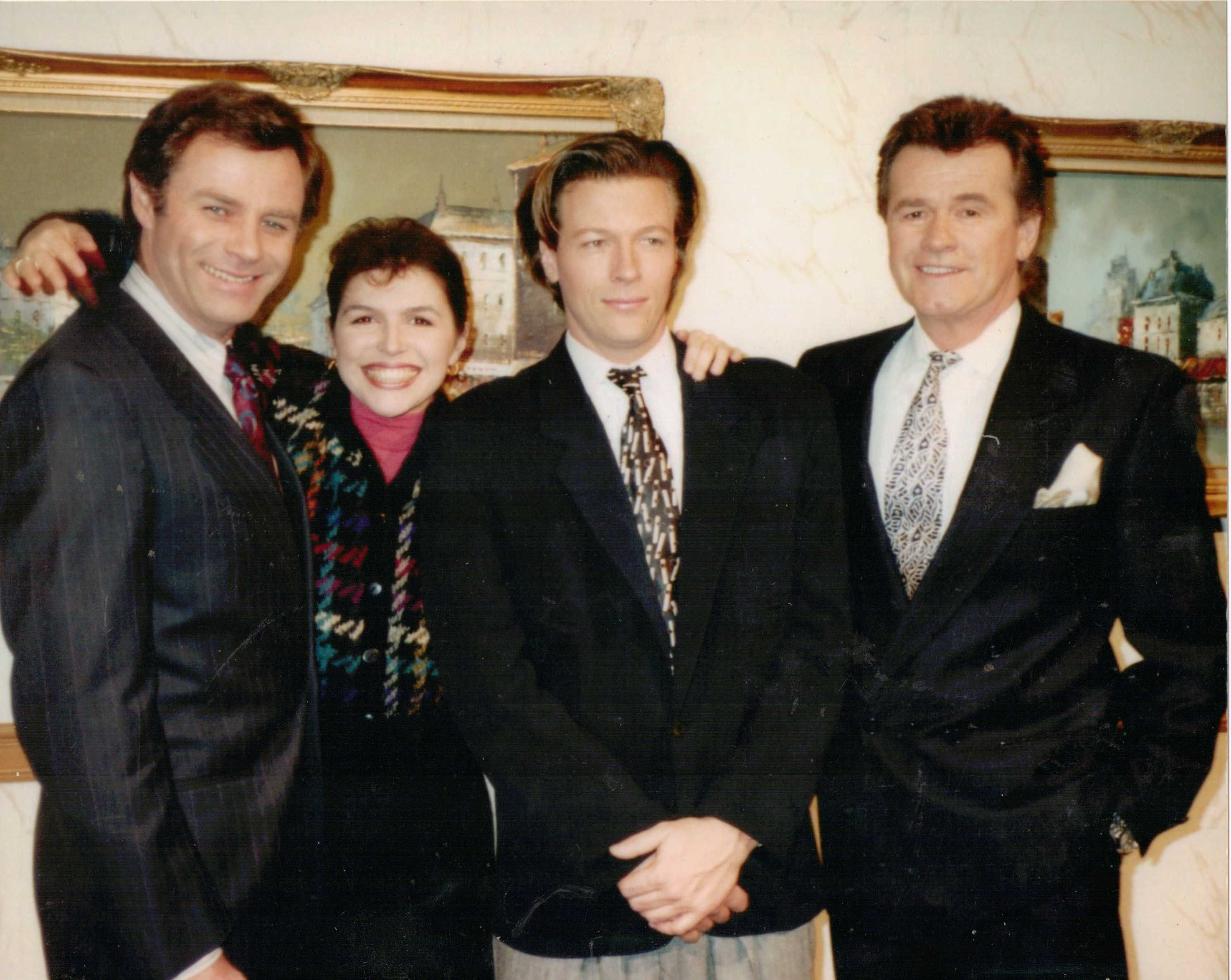 Jack Wagner Wife Complete tristan, finola, john and jack | general hospital's frisco and