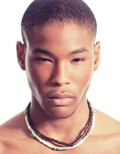 Afro asian men