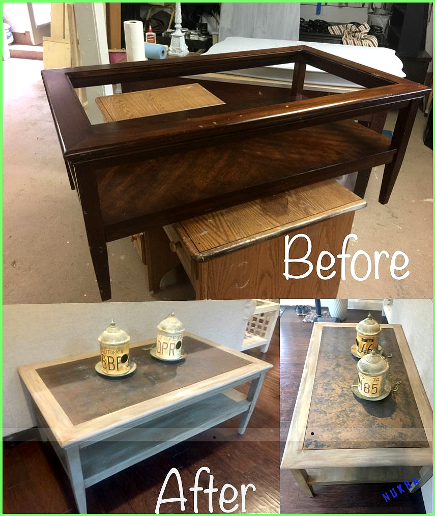 Thrift Store Makeover With Broken Glass Insert Used Thin Piece Of Wood For Inse Thrift Store Makeover With Broken Glass Kendin Yap Mobilya Mobilya Yenileme [ 1014 x 855 Pixel ]