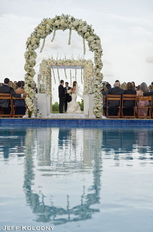 Wedding Photograph Taken At The Four Seasons Palm Beach This