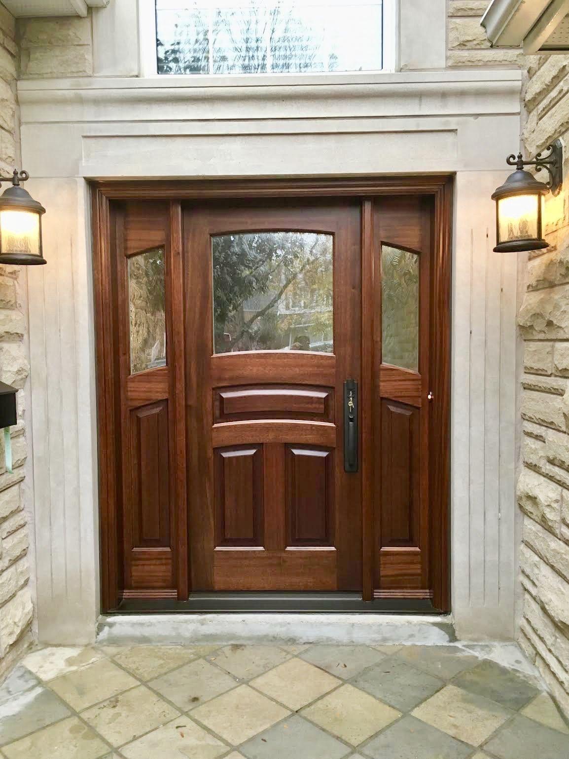 Amberwood Doors Inc: Beautiful #handmade #custommade #solid #mahogany
