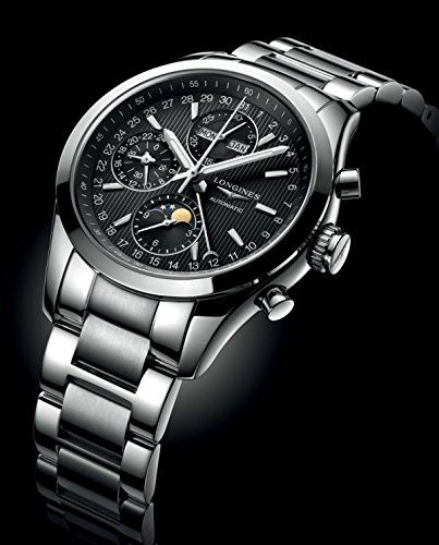 Men's Wrist Watches - Mens Longines Classic Conquest Chronograph Watch 42mm L27984526 ** Read more reviews of the product by visiting the link on the image.