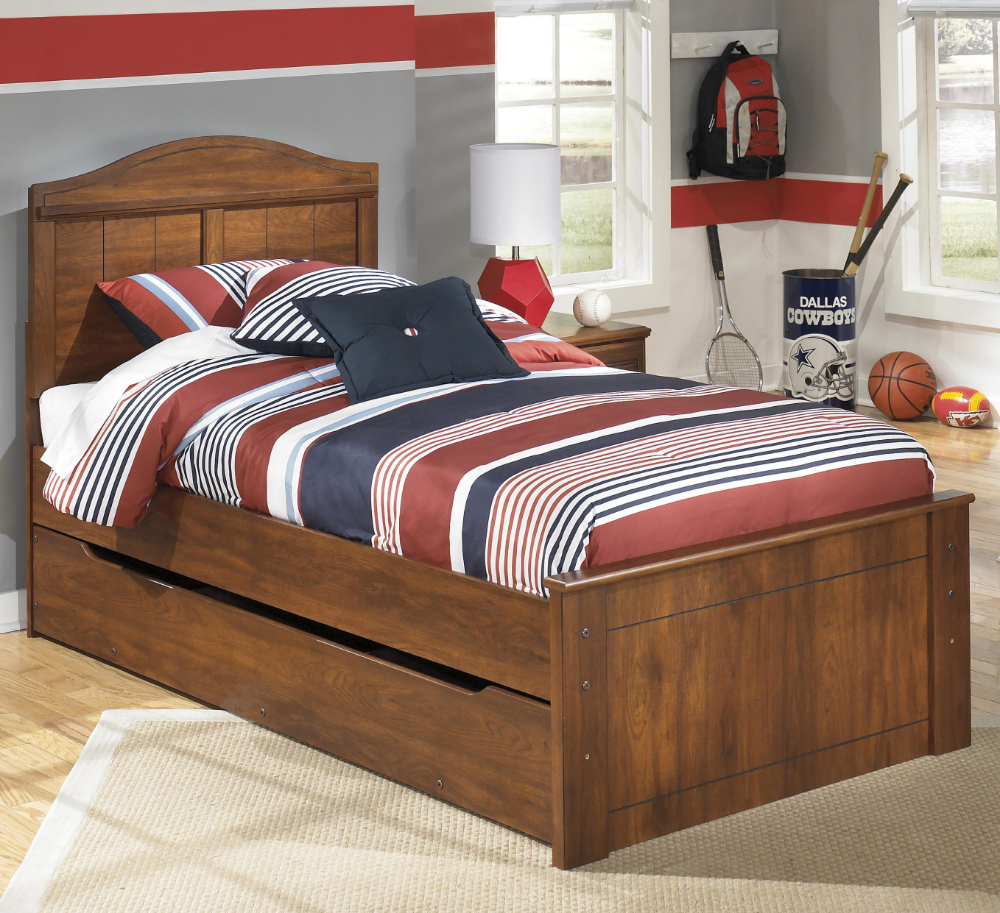 Ashley Signature Design Barchan Twin Panel Bed With Trundle Under