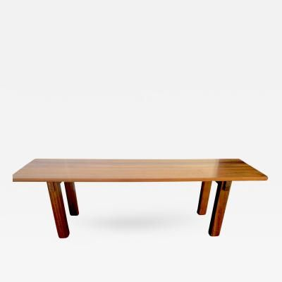 Admirable Charlotte Perriand Mahogany Long Dining Table Model Brazil Ocoug Best Dining Table And Chair Ideas Images Ocougorg