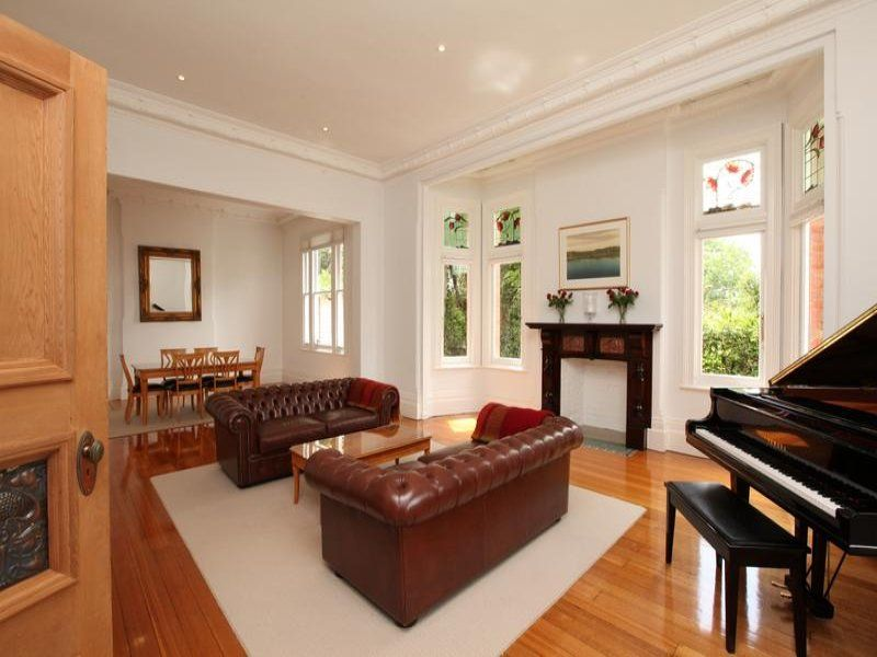 I love this big room - lounge/ dinning room - the windows - the fireplaces