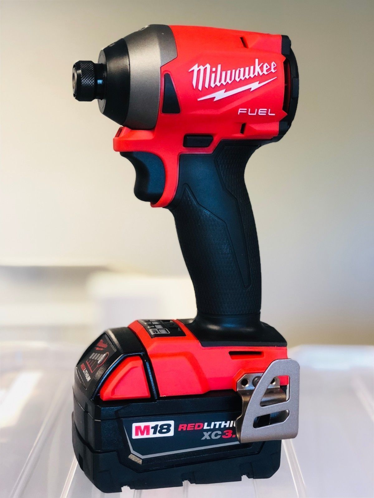 Impact Drivers 168134 Milwaukee 2853 20 M18 Fuel 1 4 Hex Driver New 3 0ah Battery It Now Only 124 99 On Ebay