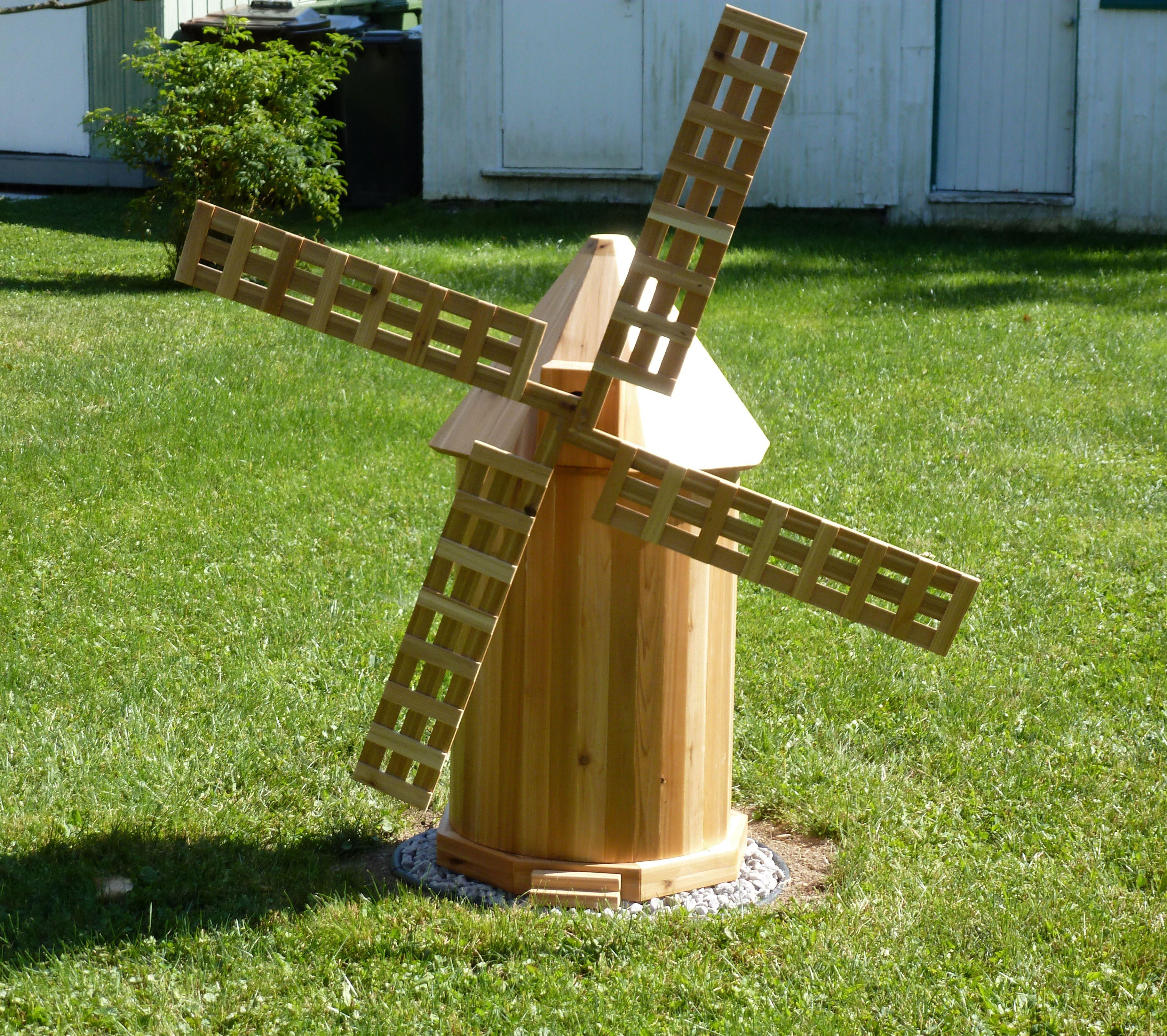 Moulin Decoratf Decorative Windmill 2012 Couvre Puits Artesien