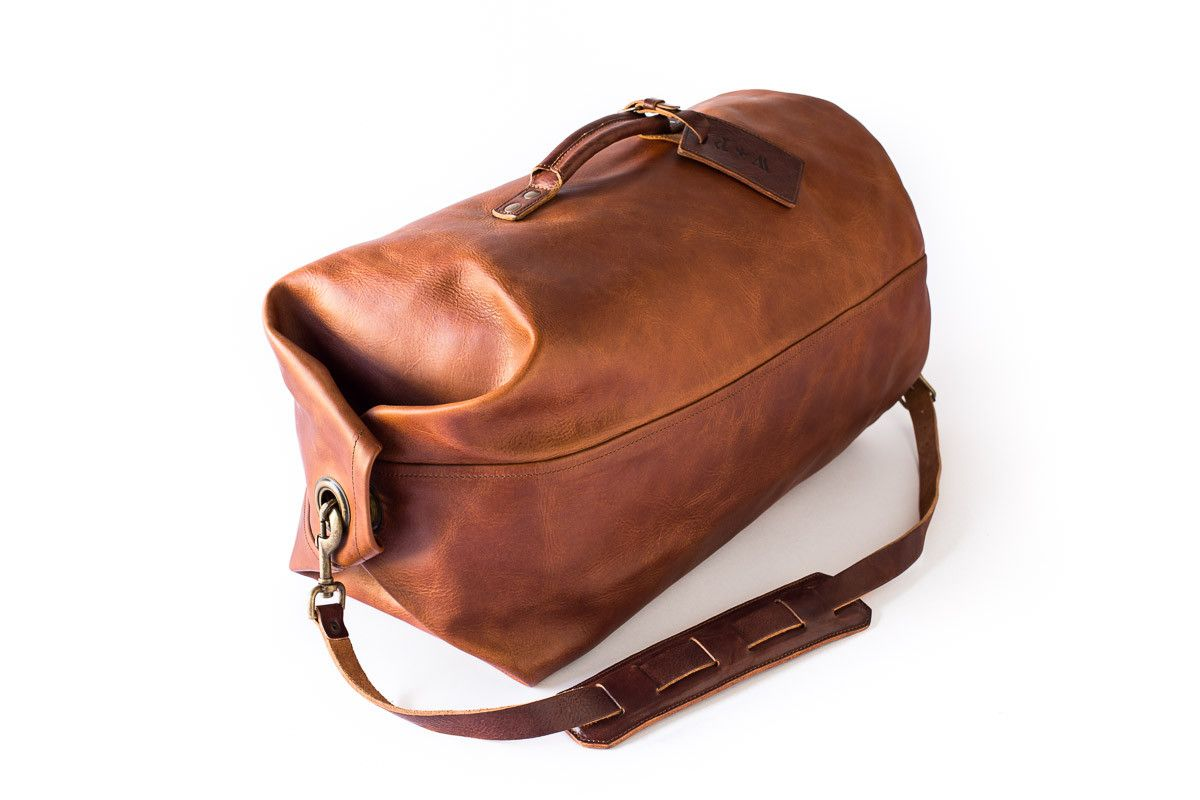 Leather Military Duffle Bag Designed to Last  809 notes