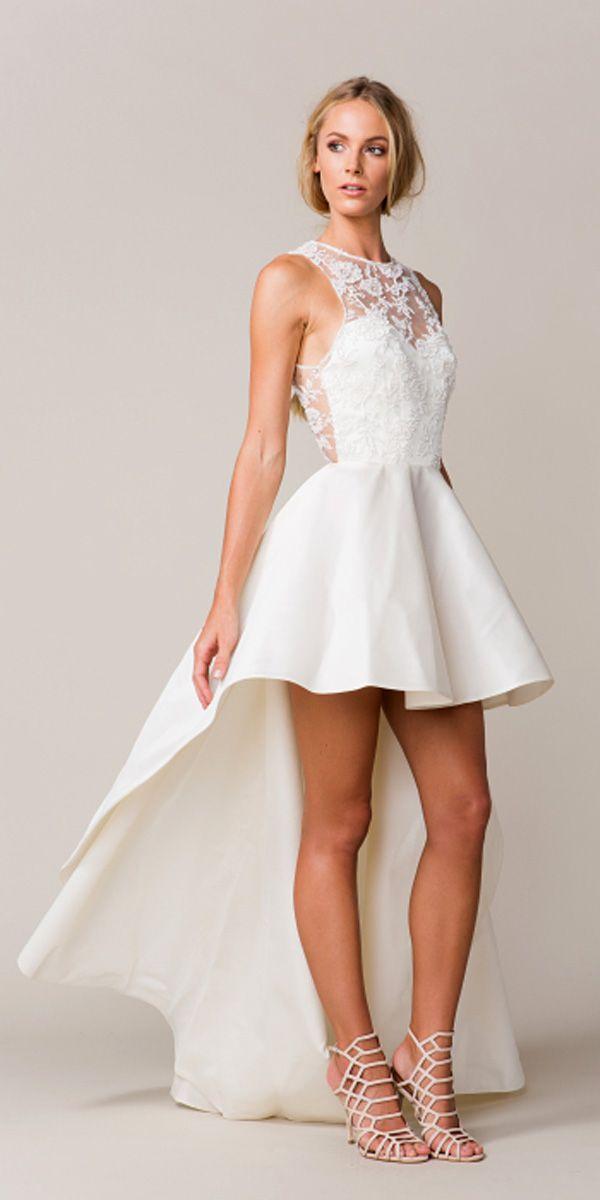 trend of the year: 24 high low wedding dresses | vestido de novia