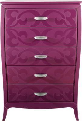 Www Roomstogo Com Belle Noir Purple Dresser Bedroom Furniture Stores Purple Dresser Dresser Decor